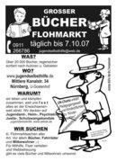 grosser Bücherflohmarkt