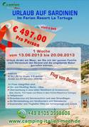 1 Woche Traumurlaub Sardinien inkl. Flug und HP