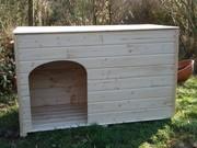 Hundehuetten, Katzenhaeuser, Kaninchenstaelle