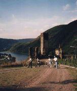 Radfahrer.jpg - Moselradelspasswoche 5.6.2009 bis 12.6.2009