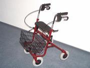 1.JPG - Gehhilfe Rollator Gehwagen Rollwagen Markenware