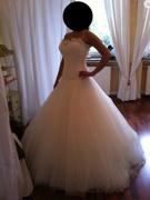 image.jpg - Brautkleid mit Schleier gr36 NEU