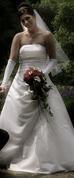 Verkufe wunderschönes Korsagen- Brautkleid von der