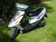 Roller Scooter REX50 Baujahr 2004 Silber Top