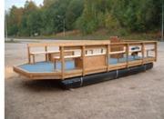 holz paddelboote bioteich geeignet