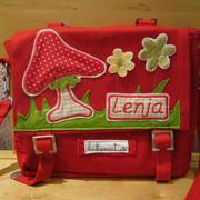 P1050450.jpg - Kindergartentasche, bestickt mit Namen