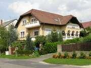 Ferienwonung in Heviz in Ungarn in exotis Garten