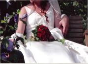 Biete Schlichtes elegantes Brautkleid