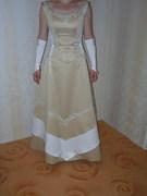 Das Kleid den wunderschoensten Tag des Lebens.