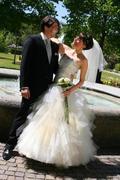 Ausgefallenes Brautkleid von Schneiderin