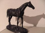 Bronze Figur Pferd