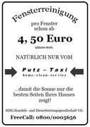 flyer2.jpg - Fensterreinigung vom Putz-Taxi - schon ab 4,50€!