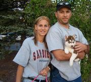Siberian Husky Welpen magische gutes Zuhause