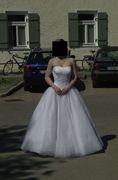 Bild Brautkleid.jpg - Brautkleid  zu verkaufen  in Prien (gebraucht)