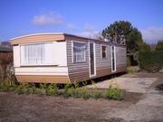 Wohnwagen mit Stellplatz auf Dauerplätz in Renesse